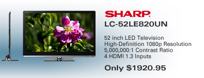 Sharp LED TV Special