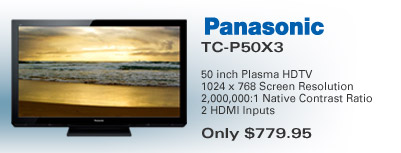 Panasonic Plasma TV Special